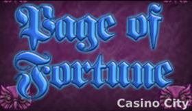 Page of Fortune Slot