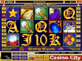 Golden Goose Winning Wizards Slot
