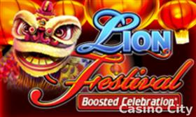 Lion Festival: Boosted Celebration Slot