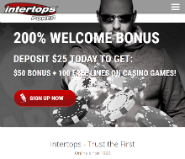 Intertops presents free blackjack