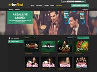 Betfinal Live Casino