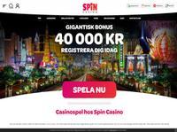 Spin Casino Sweden