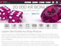 Ruby Fortune Casino Sweden