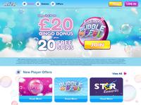 Bubble Bonus Bingo