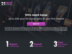 Play 21Prive Casino Now