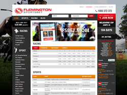 Play Flemington Sportsbet Now