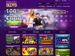 Play Majestic Slots Now