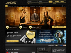 Play Casino Metropol Now
