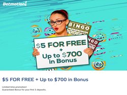 Play BetMotion Bingo Now