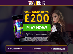 Play 21Bets Casino Now