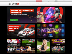 Play Optibet Sports and Casino Now