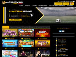 Play MobileWins Casino Now