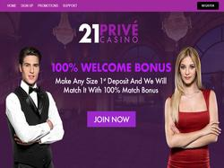 Play 21Prive Live Casino Now