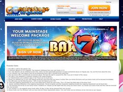 Play Mainstage Casino Now