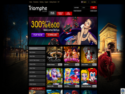 Play Triomphe Casino Now