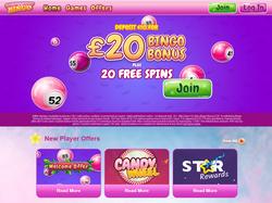 Play Candy Shop Bingo Now