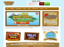 Play Treasure Bingo Now