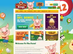 Play Farmyard Bingo Now