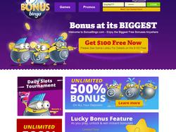 Play BonusBingo Now