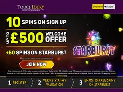 Play Touch Lucky Casino Now