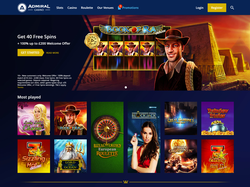 Play Admiral Casino Now