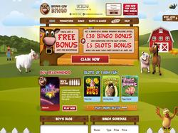 Play Brown Cow Bingo Now