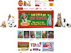 Play Pet Shop Bingo Now