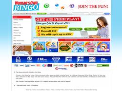 Play Woman's Own Bingo Now