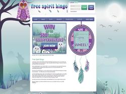 Play Free Spirit Bingo Now