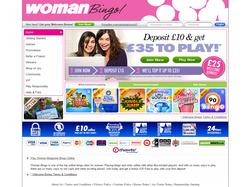 Play Woman Bingo Now