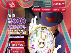 Play Lucky Wheel Bingo Now