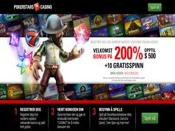 Play PokerStars Casino Now