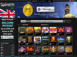Play Spinson Casino Now