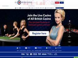 Play All British Live Casino Now