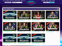Play Magical Vegas Live Casino Now