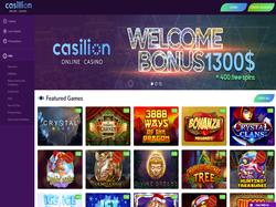 Play Casillion Casino Now