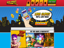 Play Sin Street Bingo Now