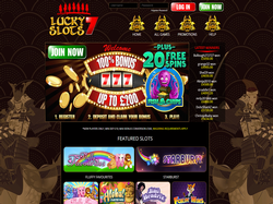 Play Lucky Slots 7 Now