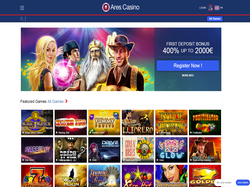 Play Ares Casino Now
