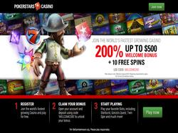 Play PokerStars Casino UK Now