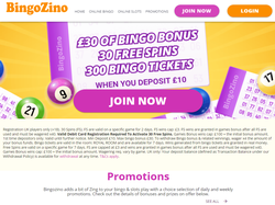 Play BingoZino Now