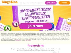 Play BingoZino Now