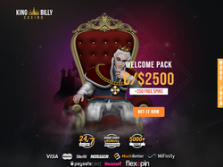 Play King Billy Casino Now