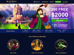 Play Royal Planet Casino Now