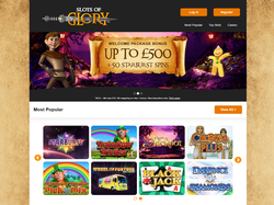 Play Slots of Glory Now
