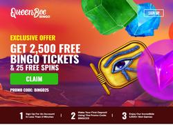 Play Queen Bee Bingo Now