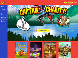 Play Captain Charity! Now