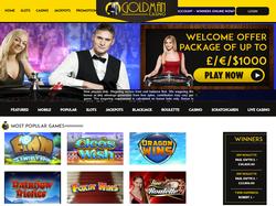 Play Goldman Casino Now