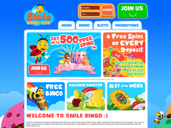 Play Smile Bingo Now
