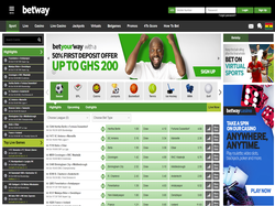 Play Betway Ghana Now